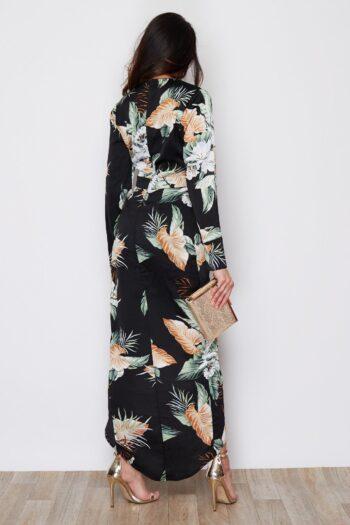 Tropical Wrap Sleeve Indie Maxi